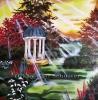 Ölbild Der Pavillion