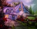 Ölbild blaues Haus