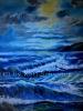 Ölbild Meeresblick