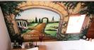 Wandbild griechischer Garten