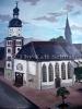 Wandbild Kirche